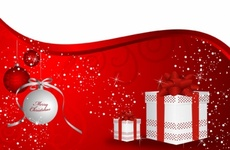 Gift Boxes and Ornaments - Holiday Vector Design