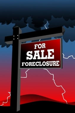 Free Foreclosure Yard Sign Vector