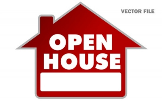 Free Open House Vector Sign