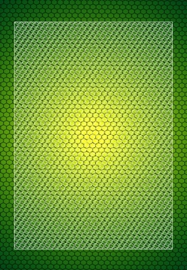 Free Green Mesh Vector Pattern Background