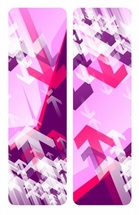 Cool Pink Vector Banners Design