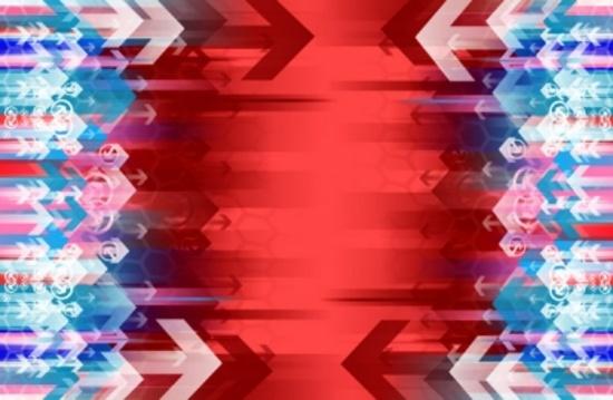 Arrowed Vector Background