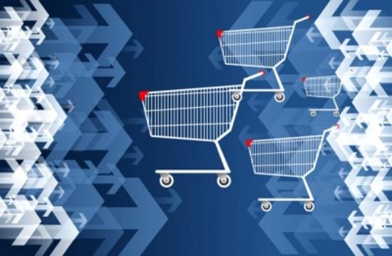 Web Store Shopping Free Vector Deisgn