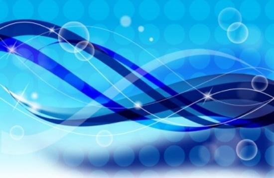 Blue Vector Design