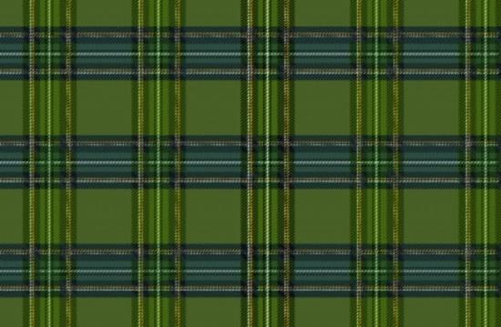 Green Tartan Free Vector