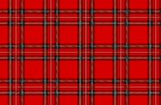 Red Tartan Free Vector Art