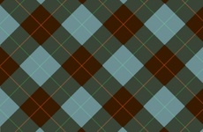 Green Brown Vector Tartan Background