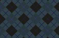 Dark Checked Vector Background