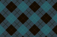 Black Blue Seamless Checked Vector
