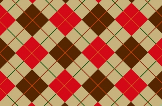Checked Cotton Vector Background