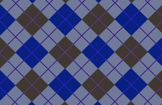 Blue Textile Pattern Free Vector