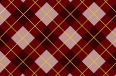 Pink-Brown Tartan Vector Pattern