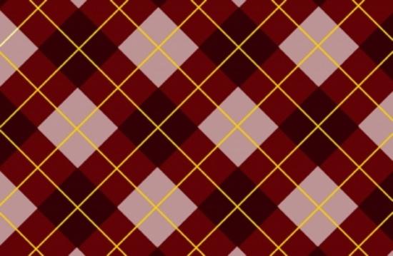 Pink-Brown Tartan Vector Pattern