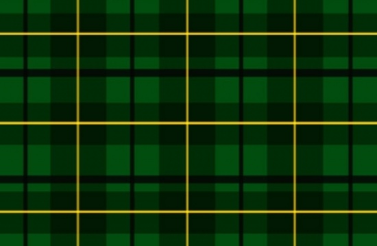 Green Scottish Tartan Vector