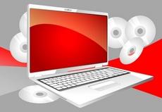 Laptop Computer Vector Design