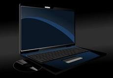 Mobile Computer - Vector Laptop