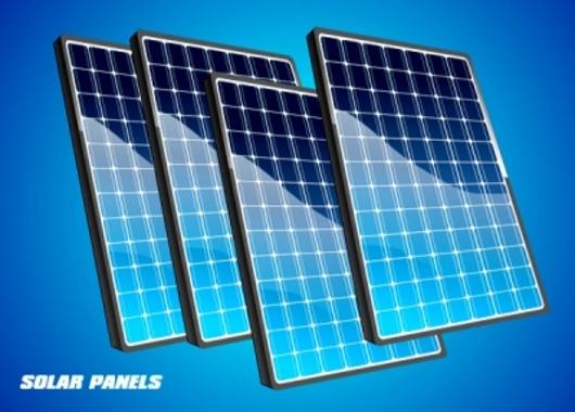 Free Vector Solar Panels