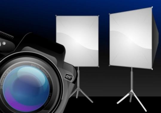 Photography Studio Vector Design