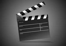 Free Film Clipper - Movie Clipper Vector