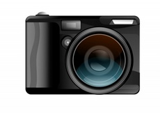 Free Vector Digital Camera