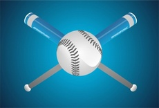 Free Baseball Vector Design