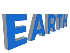 Free Earth 3D Word