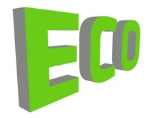 3D Eco Free Vector Letters