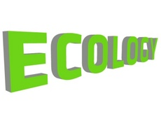 Ecology 3D Word Free Vector