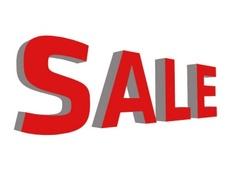SALE 3D Vector Word