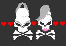 Lovely Couples - Skulls Love