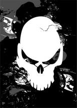 Strange Looking Vector Skull