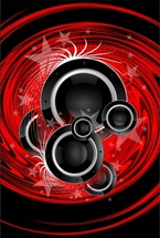 Abstract DJ Background
