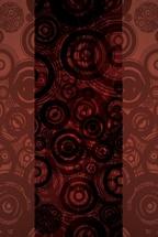 Brown Circles Abstract Vector