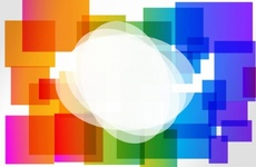 Basic Colorful Vector Background
