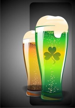 Vector Beer Glasses