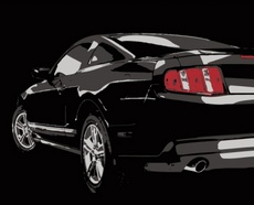 Free Muscle Car Vector