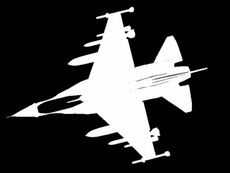 Free Military Jet Silhouette