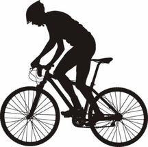 Free Biker Silhouette
