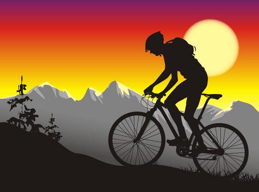 Mountain Biker Ride