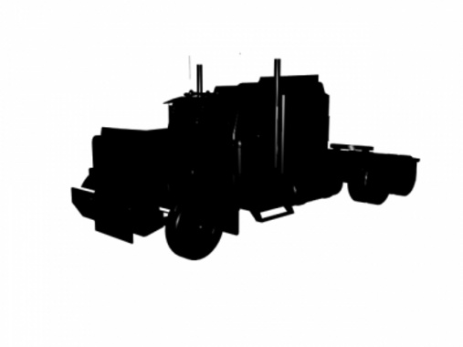 Free Truck Silhouette