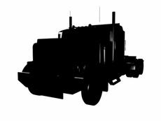 American Truck Silhouette