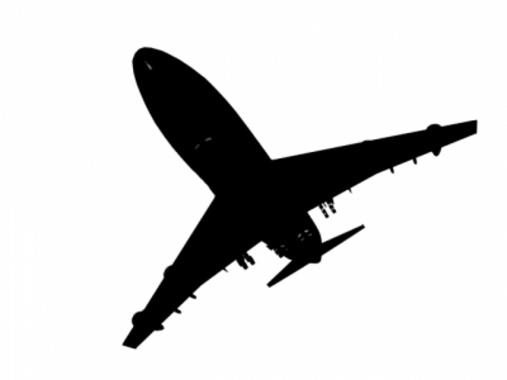 Free Airplane Silhouette
