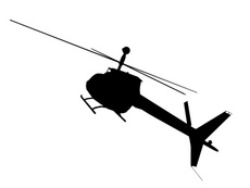 Free Silhouette Vector Heli