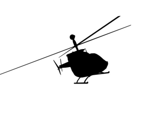 Vector Helicopter Ride