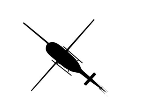 Helicopter Top View