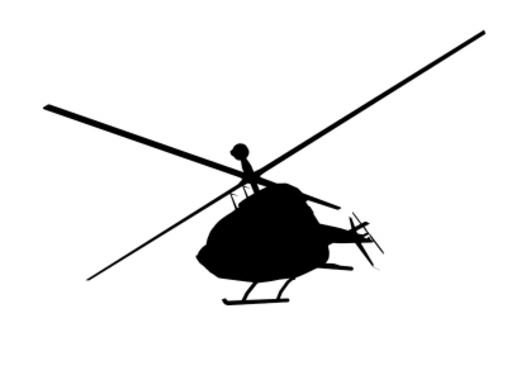 Helicopter in Fly