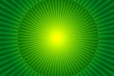 Green Vector Rays