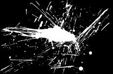 Grunge White Vector Splash