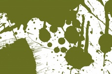 Green Vector Paint Splash