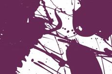 Free Purple Grungy